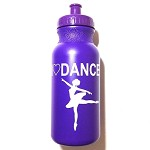 g265 Purple I Love Dance Arabesque Print 20oz. Bottle (ea.)